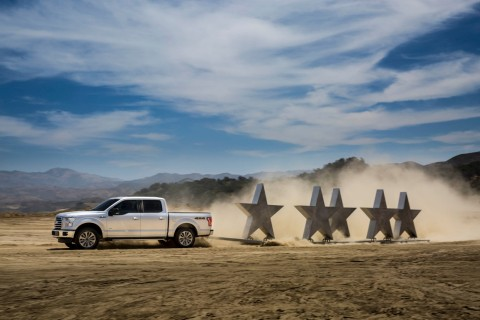 5 Star Safety Rating Makes 2016 Ford F150 Safest Truck On